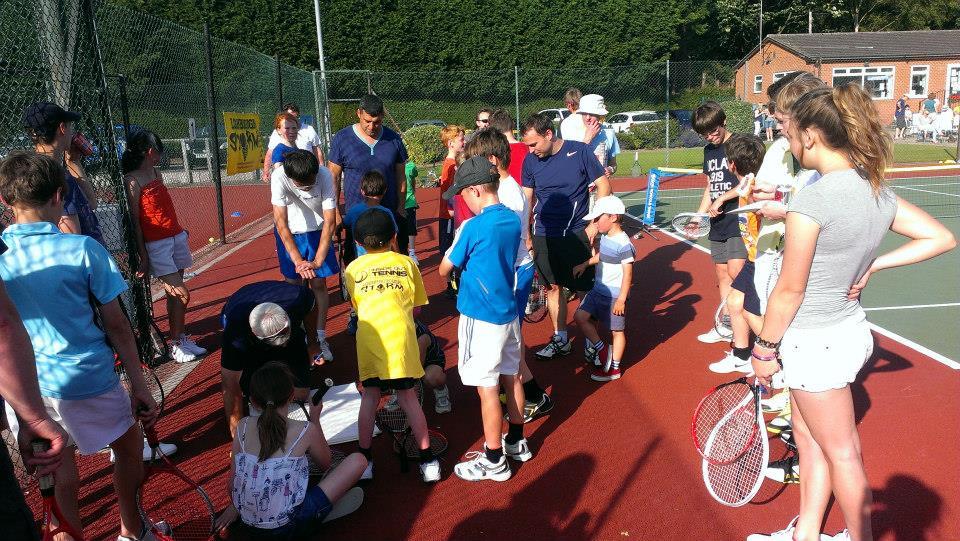 Tennis Camps – Summer 2014